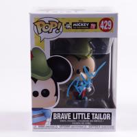 "Bret Iwan Signed Mickey #429 ""Brave Little Tailor"" Funko Pop! Vinyl Figure (JSA COA) at PristineAuction.com"
