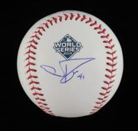 Joe Ross Signed OML 2019 World Series Logo Baseball (Beckett COA) at PristineAuction.com
