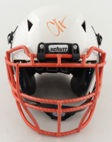 """Chad """"Ochocinco"""" Johnson Signed Full-Size Authentic On-Field Hydro-Dipped Helmet (PSA COA) at PristineAuction.com"""