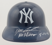 """Dwight """"Doc"""" Gooden Signed Yankees Full-Size Batting Helmet Inscribed """"No Hitter 5-14-96"""" (PSA COA) at PristineAuction.com"""