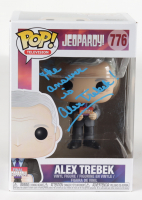 "Alex Trebek Signed ""Jeopardy"" #776 Funko Pop! Vinyl Figure Inscribed ""The Answer Is"" (JSA COA & PSA Hologram) at PristineAuction.com"