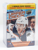 2020-21 Upper Deck Series 1 Hockey Blaster Box with (7) Packs (See Description) at PristineAuction.com