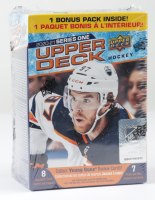 2020-21 Upper Deck Series 1 Hockey Blaster Box with (7) Packs at PristineAuction.com