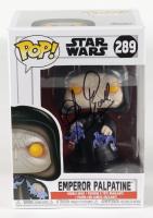 "Clive Revill Signed ""Star Wars"" #289 Emperor Palpatine Funko Pop! Vinyl Figure (JSA COA & PSA Hologram) at PristineAuction.com"