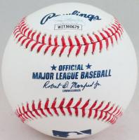 """Don Mattingly Signed OML Baseball Inscribed """"85 AL MVP"""" (JSA Hologram) at PristineAuction.com"""