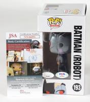 "Kevin Conroy Signed ""Batman: The Animated Series"" #193 Batman (Robot) Funko Pop! Vinyl Figure Inscribed ""Batman"" (JSA COA & PSA Hologram) at PristineAuction.com"
