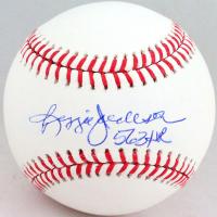 "Reggie Jackson Signed OML Baseball Inscribed ""563 HR"" (Beckett Hologram) at PristineAuction.com"