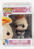 "Tom Bunk Signed ""Garbage Pail Kids"" #01 Adam Bomb Funko Pop! Vinyl Figure (JSA COA & PSA Hologram) at PristineAuction.com"