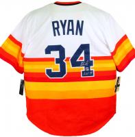 "Nolan Ryan Signed Astros Jersey Inscribed ""HOF 99"" (AIV Hologram & Ryan Hologram) at PristineAuction.com"