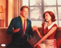 "Elizabeth Olsen & Paul Bettany Signed ""Wanda Vision"" 11x14 Photo (JSA Hologram) at PristineAuction.com"