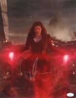 """Elizabeth Olsen Signed """"Avengers"""" 11x14 Photo (JSA Hologram) (See Description) at PristineAuction.com"""