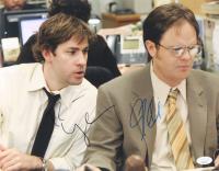 """Rainn Wilson & John Krasinski Signed """"The Office"""" 11x14 Photo (JSA Hologram) at PristineAuction.com"""