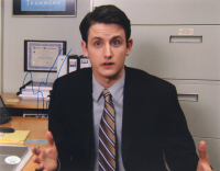 """Zach Woods Signed """"The Office"""" 11x14 Photo (JSA Hologram) at PristineAuction.com"""