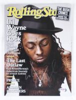 Lil Wayne Signed 2009 Rolling Stone Magazine (JSA COA & PSA Hologram) (See Description) at PristineAuction.com