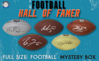 Schwartz Sports Football Hall of Famer Signed Full-Size Football Mystery Box – Series 10 (Limited to 150) at PristineAuction.com