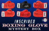 Schwartz Sports INSCRIBED Boxing Glove Signed Mystery Box - Series 6 (Limited to 75) (ALL GLOVES HAVE INSCRIPTIONS!!!) at PristineAuction.com