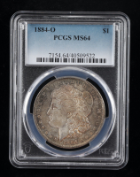 1884-O Morgan Silver Dollar (PCGS MS64) (Toned) at PristineAuction.com