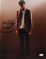 "Gianni DeCenzo Signed ""Cobra Kai"" 11x14 Photo Inscribed ""Demetri"" & ""The Nerd"" (JSA Hologram) at PristineAuction.com"