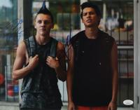 "Xolo Mariduena & Jacob Bertrand Signed ""Cobra Kai"" 11x14 Photo (JSA Hologram) at PristineAuction.com"