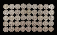 Roll of (45) 1932 U.S. Quarters with Case at PristineAuction.com