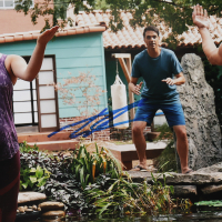 "Tanner Buchanan & Mary Mouser Signed ""Cobra Kai"" 11x14 Photo (JSA Hologram) at PristineAuction.com"