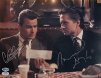 "Charlie Sheen & Michael Douglas Signed ""Wall Street"" 11x14 Photo (PSA Hologram & Beckett COA) at PristineAuction.com"