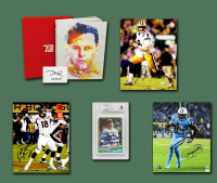 Schwartz Sports Football TOUCHDOWN Mystery Box - Series 9 (Limited to 125) (6+ Autograph Items per Box) at PristineAuction.com
