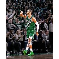 "Jayson Tatum Signed Celtics ""Celebration"" 16x20 Photo (Fanatics Hologram) at PristineAuction.com"
