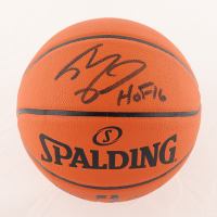 """Shaquille O'Neal Signed NBA Silver Series Basketball Inscribed """"HOF 16"""" (JSA COA) at PristineAuction.com"""