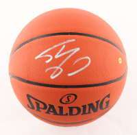 Shaquille O'Neal Signed NBA Silver Series Basketball (JSA COA) at PristineAuction.com