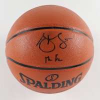 """Steve Francis Signed NBA Game Ball Series Basketball Inscribed """"The Franchise"""" (JSA COA) at PristineAuction.com"""