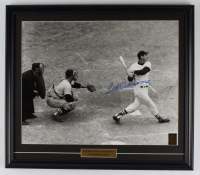 Ted Williams Signed Red Sox 20x23 Custom Framed Photo Display (Williams COA) at PristineAuction.com
