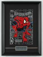"""Marvel Comics """"Spiderman""""  First Issue 12x16 Custom Framed Comic Book Display at PristineAuction.com"""