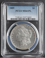 1889 Morgan Silver Dollar (PCGS MS61 Proof Like) at PristineAuction.com