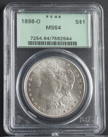 1898-O Morgan Silver Dollar (PCGS MS64) OGH at PristineAuction.com