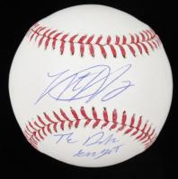 """Matt Harvey Signed OML Baseball Inscribed """"The Dark Knight"""" (Steiner Hologram, MLB Hologram & Fanatics Hologram) at PristineAuction.com"""