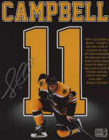 Gregory Campbell Signed Bruins 8x10 Photo (Campbell COA) at PristineAuction.com