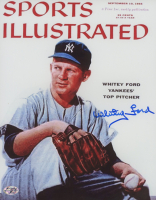 Whitey Ford Signed Yankees 8x10 Photo (YSMS Hologram) at PristineAuction.com