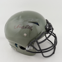 Nick Chubb Signed Full-Size Authentic On-Field Vengeance Helmet (Beckett COA) at PristineAuction.com