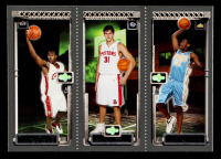 LeBron James 111 RC / Kirk Hinrich 117 RC / Carmelo Anthony 113 2003-04 Topps Rookie Matrix #JHA RC at PristineAuction.com