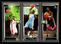 LeBron James 111 RC / Carmelo Anthony 113 RC / Dwyane Wade 115 2003-04 Topps Rookie Matrix #JAW RC at PristineAuction.com