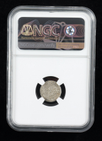 Ferdinand II (1526-1564) Hungary Denar Medieval Silver Coin (NGC MS61) at PristineAuction.com