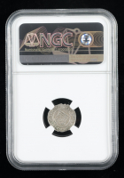 Ferdinand II (1526-1564) Hungary Denar Medieval Silver Coin (NGC AU55) at PristineAuction.com