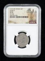 Henry III (1574-1589) France 2 Sol Parisis Medieval Silver Coin (NGC VF35) at PristineAuction.com