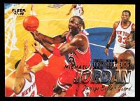 Michael Jordan 1997-98 Fleer #23 at PristineAuction.com