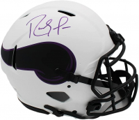 Randy Moss Signed Vikings Full-Size Authentic On-Field Lunar Eclipse Alternate Speed Helmet (Beckett COA) at PristineAuction.com