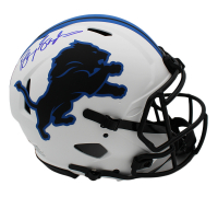 Barry Sanders Signed Lions Full-Size Authentic On-Field Lunar Eclipse Alternate Speed Helmet (Schwartz Sports COA) at PristineAuction.com