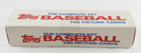 Complete Factory Set of 1987 Topps (792) Baseball Cards with Barry Bonds, Mark McGwire & Bo Jackson Rookie Cards (See Description) at PristineAuction.com