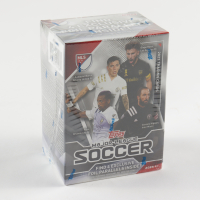 2021 Topps MLS Soccer Blaster Box with (8) Packs at PristineAuction.com
