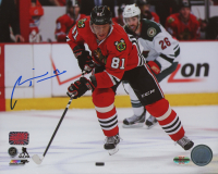 Marian Hossa Signed Blackhawks 8x10 Photo (Hossa COA & Hossa Hologram) at PristineAuction.com